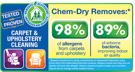 Carpet Cleaning Statistics for J & G Chem-Dry